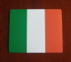 Ireland Country Flag Hardtop Mouse Mat / Pad.